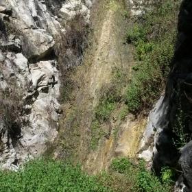 Waterfall in San Ysidro Canyon