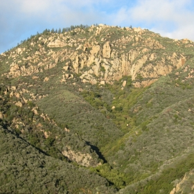 Head of Mission Canyon