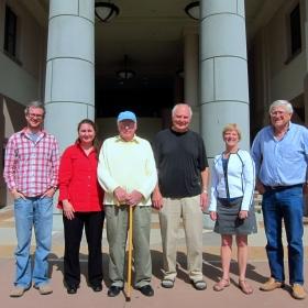 Trevor Hayton (L), Susannah Scott, Ralph Pearson, Galen Stucky, Alison Butler, Peter Ford, October 2011
