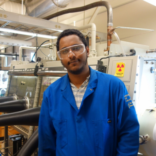 Mikiyas' research is focused on synthesis and characterization of new lanthanide coordination complexes.